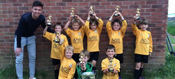 BROADCLYST TIGERS WIN EXETER CITY COMPETITION.2..